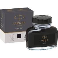 Черные чернила Parker (Паркер) Quink Black во флаконе