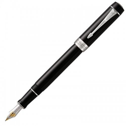 Перьевая ручка Parker (Паркер) Duofold International Classic Black CT F в Челябинске