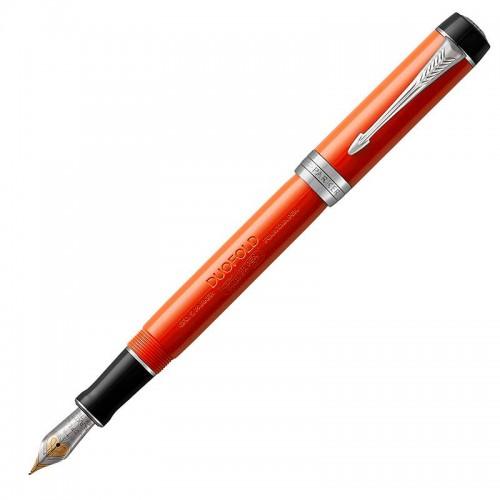 Перьевая ручка Parker (Паркер) Duofold Centennial Classic Big Red Vintage CT F в Челябинске