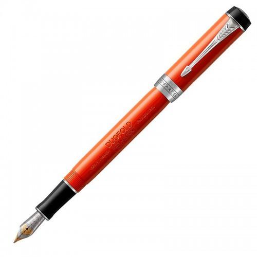 Перьевая ручка Parker (Паркер) Duofold International Classic Big Red Vintage CT F в Челябинске