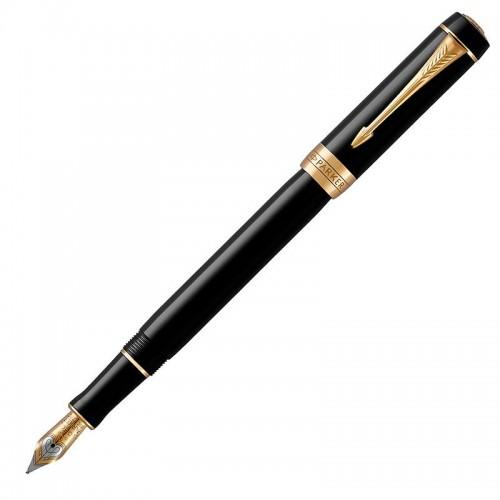 Перьевая ручка Parker (Паркер) Duofold Classic International Black GT F в Челябинске