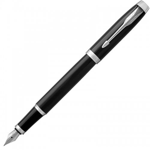 Перьевая ручка Parker (Паркер) IM Core Black Chrome CT F в Челябинске