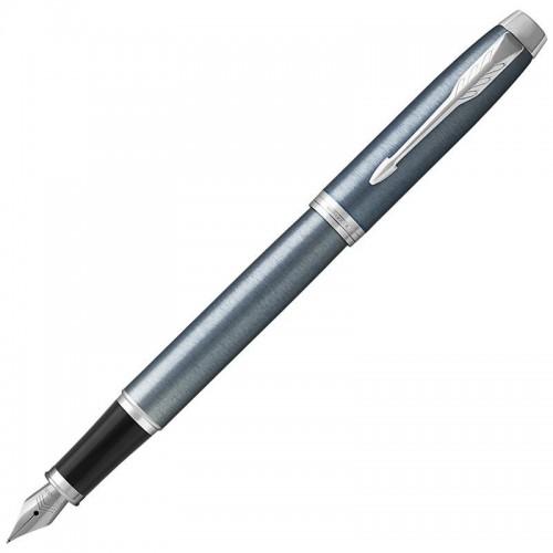 Перьевая ручка Parker (Паркер) IM Core Light Blue Grey CT F в Челябинске