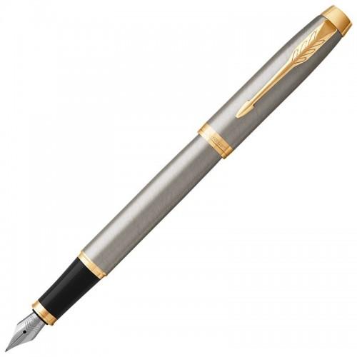 Перьевая ручка Parker (Паркер) IM Core Brushed Metal GT F в Челябинске