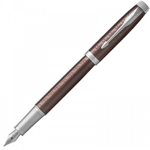 Перьевая ручка Parker (Паркер) IM Premium Brown CT F в Челябинске