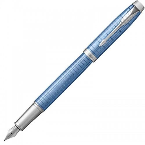 Перьевая ручка Parker (Паркер) IM Premium Blue CT F в Челябинске