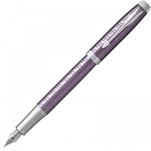 Перьевая ручка Parker (Паркер) IM Premium Dark Violet CT F в Челябинске