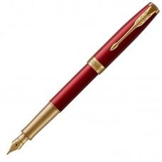 Перьевая ручка Parker (Паркер) Sonnet Core Red Lacquer GT F 18k