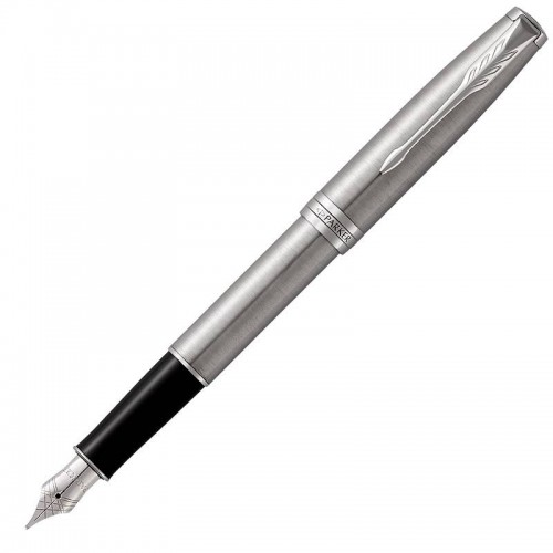 Перьевая ручка Parker (Паркер) Sonnet Core Stainless Steel CT F в Челябинске