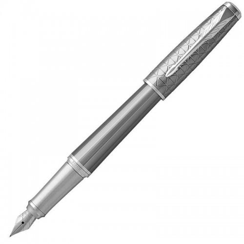 Перьевая ручка Parker (Паркер) Urban Premium Silvered Powder CT F в Челябинске
