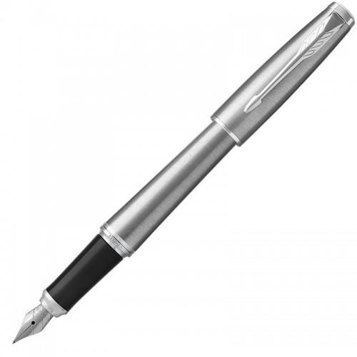 Перьевая ручка Parker (Паркер) Urban Metro Metallic CT F в Челябинске