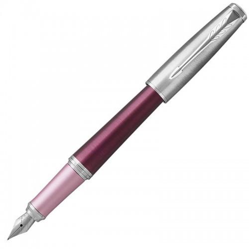 Перьевая ручка Parker (Паркер) Urban Premium Dark Pink CT F в Челябинске
