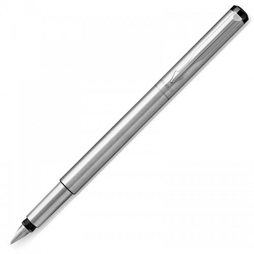 Перьевая ручка Parker (Паркер) Vector Standard Stainless Steel CT F в Челябинске