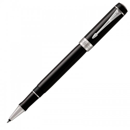 Ручка-роллер Parker (Паркер) Duofold Classic Black CT в Челябинске