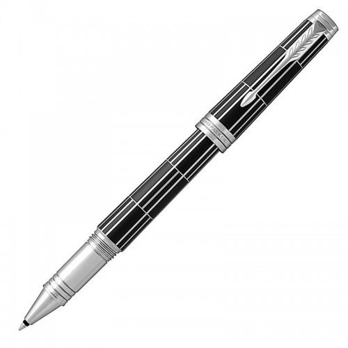 Ручка-роллер Parker (Паркер) Premier Luxury Black CT в Челябинске