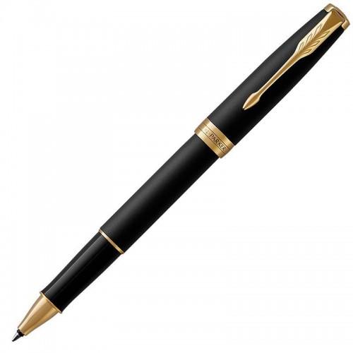 Ручка-роллер Parker (Паркер) Sonnet Core Matte Black Lacquer GT в Челябинске