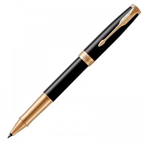 Ручка-роллер Parker (Паркер) Sonnet Core Black Lacquer GT в Челябинске