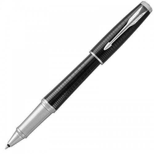 Ручка-роллер Parker (Паркер) Urban Premium Ebony Metal Chiselled CT в Челябинске