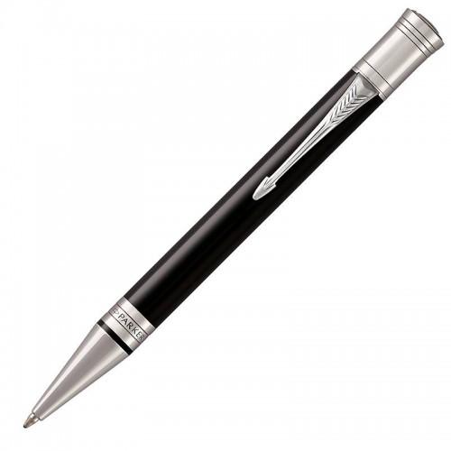 Шариковая ручка Parker (Паркер) Duofold Classic Black CT в Челябинске