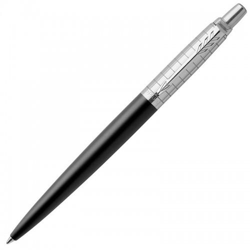 Шариковая ручка Parker (Паркер) Jotter Premium Bond Street Black Grid CT в Челябинске