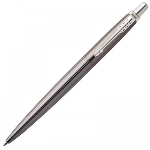 Шариковая ручка Parker (Паркер) Jotter Gel Premium Oxford Grey Pinstripe CT с гелевым стержнем в Челябинске