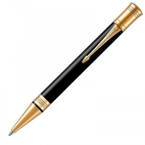 Шариковая ручка Parker (Паркер) Duofold Classic Black GT в Челябинске