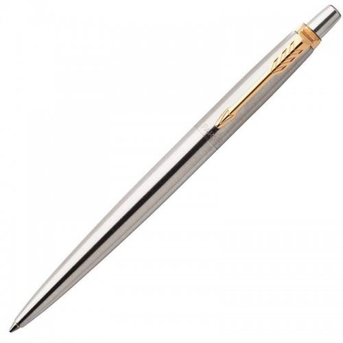 Шариковая ручка Parker (Паркер) Jotter Core Stainless Steel GT в Челябинске