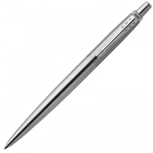 Шариковая ручка Parker (Паркер) Jotter Gel Core Stainless Steel CT с гелевым стержнем в Челябинске