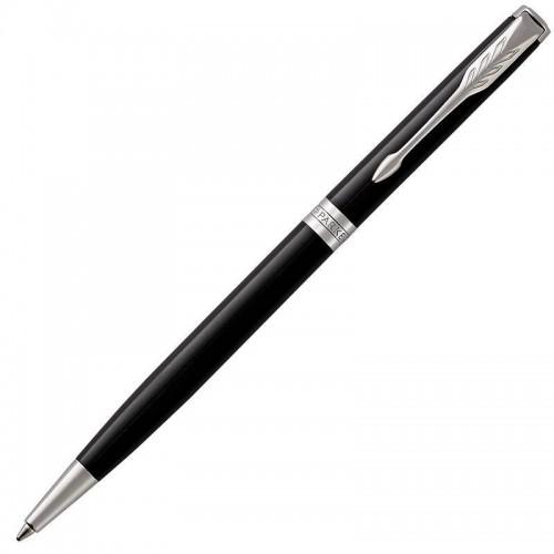 Шариковая ручка Parker (Паркер) Sonnet Core Slim Black Lacquer CT в Челябинске