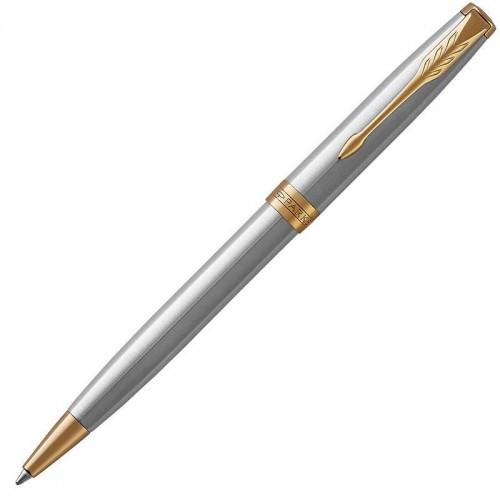 Шариковая ручка Parker (Паркер) Sonnet Core Stainless Steel GT в Челябинске