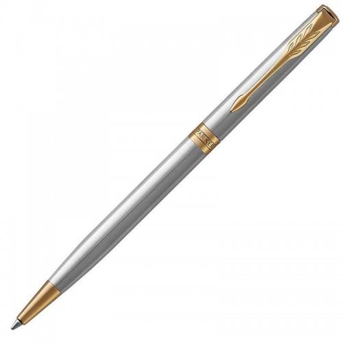 Шариковая ручка Parker (Паркер) Sonnet Core Slim Stainless Steel GT в Челябинске