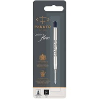 Чёрный шариковый стержень Parker Ball Pen Refill QuinkFlow Premium F Black