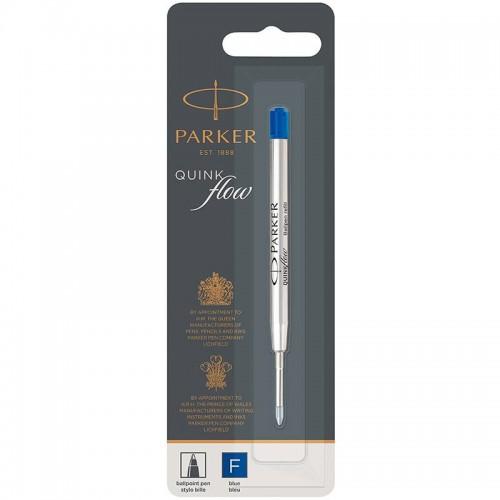 Синий шариковый стержень Parker (Паркер) Ball Pen Refill QuinkFlow Premium F Blue в Челябинске