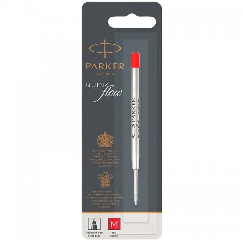 Красный шариковый стержень Parker (Паркер) Ball Pen Refill QuinkFlow Premium M Red в Челябинске