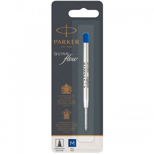 Синий шариковый стержень Parker (Паркер) Ball Pen Refill QuinkFlow Premium M Blue в Челябинске